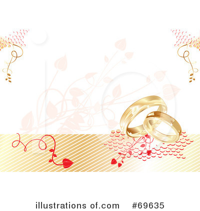 Wedding Rings Clipart #69635 by MilsiArt