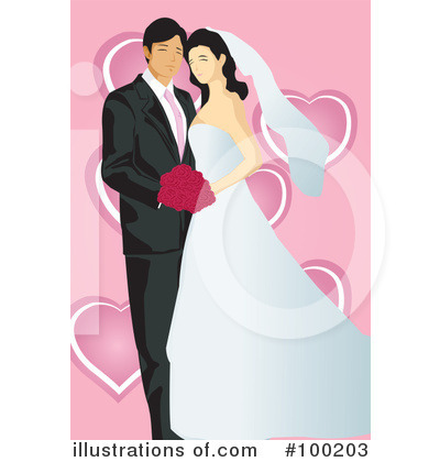 Wedding Couple Clipart #100203 by mayawizard101