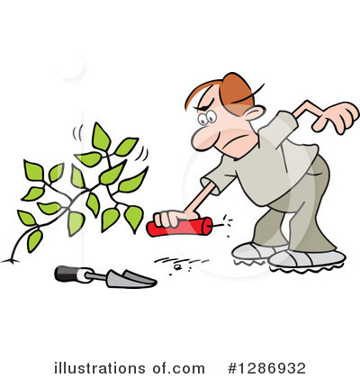 Royalty-Free (RF) Weeds Clipart Illustration by Johnny Sajem - Stock Sample #1286932