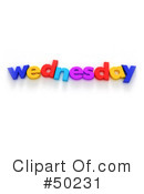 Weekday Clipart #50231