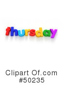 Weekday Clipart #50235