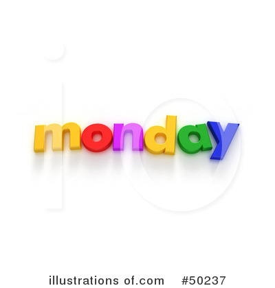Royalty-Free (RF) Weekday Clipart Illustration by Frank Boston - Stock ...