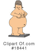 Royalty-Free (RF) Weight Clipart Illustration #18441
