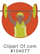 Weight Lifting Clipart #104077