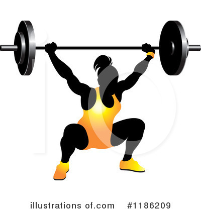 Weightlifting Clipart #1186209 by Lal Perera