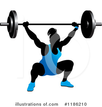 Weightlifting Clipart #1186210 by Lal Perera