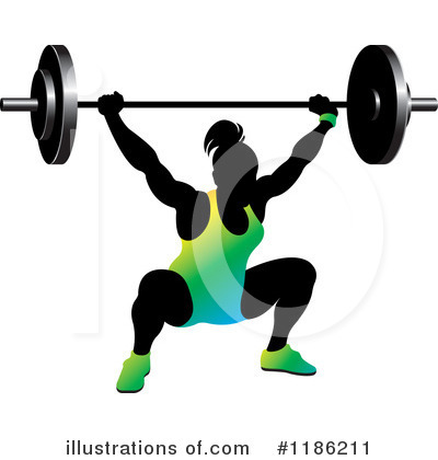 Weightlifting Clipart #1186211 by Lal Perera