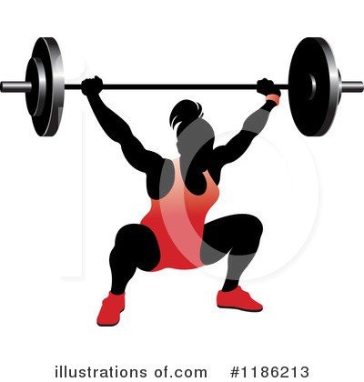 Weightlifting Clipart #1186213 by Lal Perera