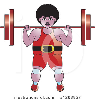 Weightlifting Clipart #1268957 by Lal Perera
