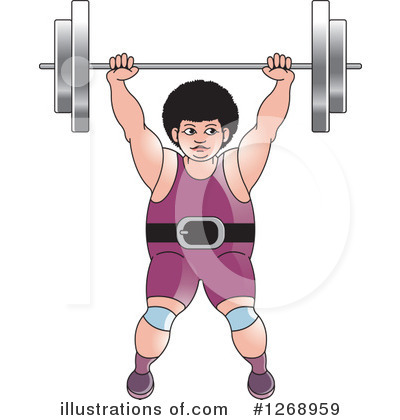 Weightlifting Clipart #1268959 by Lal Perera