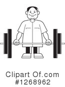 Weightlifting Clipart #1268962 by Lal Perera