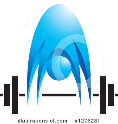 Weightlifting Clipart #1275231 by Lal Perera