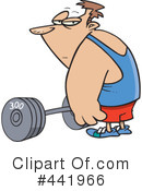 Weightlifting Clipart #441966 by toonaday
