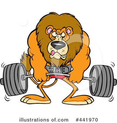 Lion Clipart #441970 by toonaday