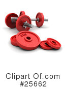 Weights Clipart #25662 by KJ Pargeter
