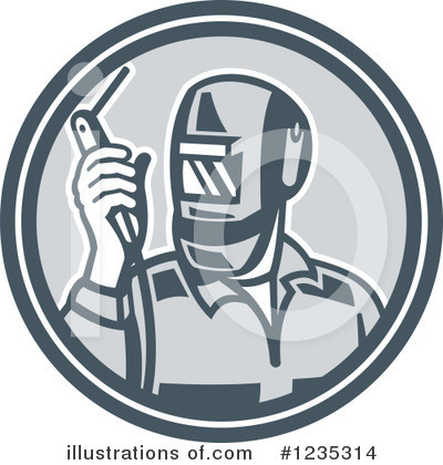 Welder Clipart #1235314 by patrimonio