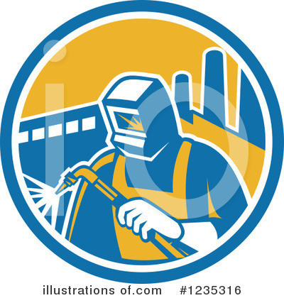 Welder Clipart #1235316 by patrimonio