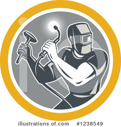Welder Clipart #1238549 by patrimonio