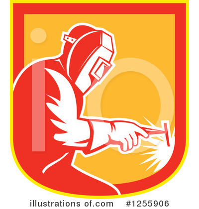 Welder Clipart #1255906 by patrimonio
