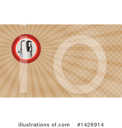 Business Card Design Clipart #1426914 by patrimonio