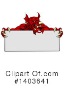Welsh Dragon Clipart #1403641 by AtStockIllustration