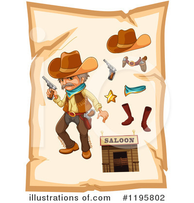 Cowboy Boots Clipart #1195802 by Graphics RF