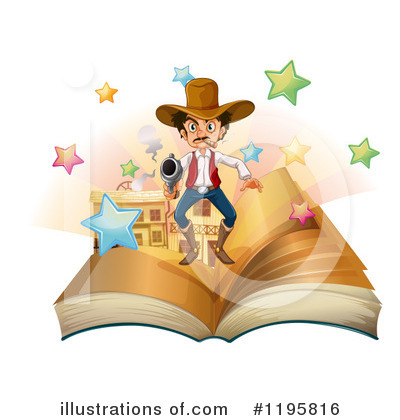 Reading Clipart #1195816 by Graphics RF