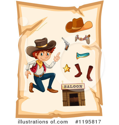 Cowboy Boots Clipart #1195817 by Graphics RF