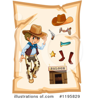 Cowboy Boots Clipart #1195829 by Graphics RF