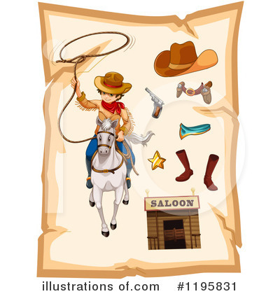 Cowboy Boots Clipart #1195831 by Graphics RF