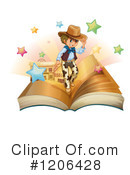 Western Clipart #1206428 by Graphics RF