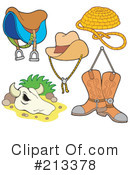 Royalty-Free (RF) Western Clipart Illustration #213378