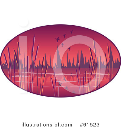 Royalty-Free (RF) Wetlands Clipart Illustration by r formidable - Stock Sample #61523