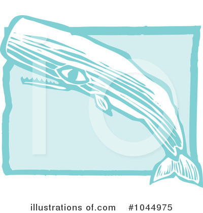 Whale Clipart #1044975 by xunantunich