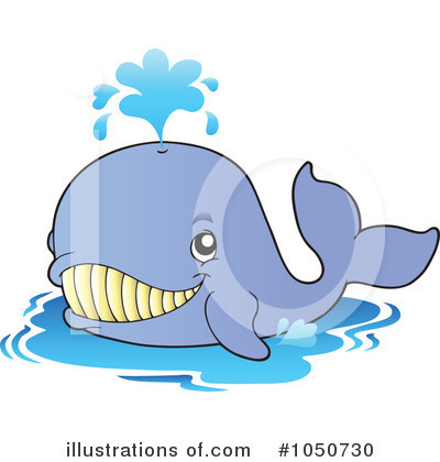 Whale Clipart #1050730 by visekart