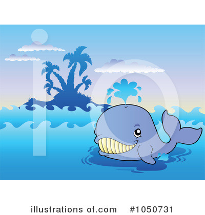 Whale Clipart #1050731 by visekart