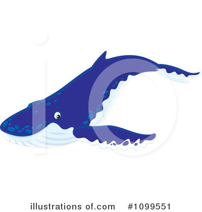 Whale Clipart #1099551 by Alex Bannykh