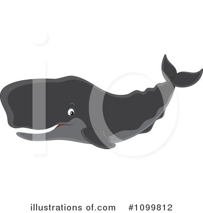 Whale Clipart #1099812 by Alex Bannykh