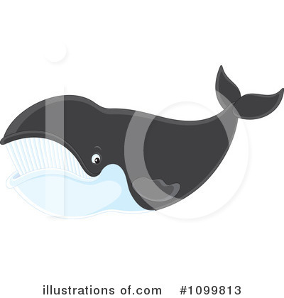 Whale Clipart #1099813 by Alex Bannykh