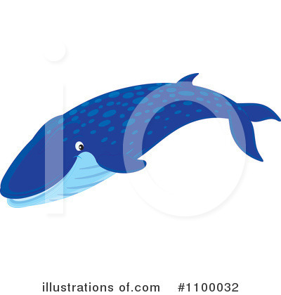 Whale Clipart #1100032 by Alex Bannykh