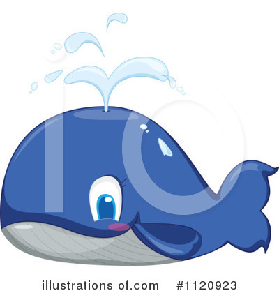 Whale Clipart #1120923 by Graphics RF