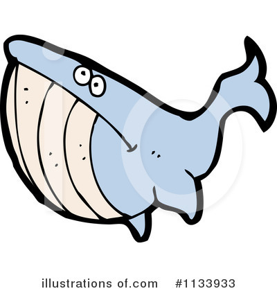 Whale Clipart #1133933 by lineartestpilot