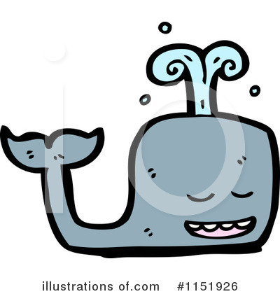 Whale Clipart #1151926 by lineartestpilot