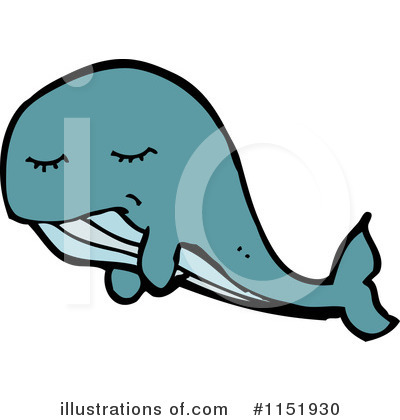 Whale Clipart #1151930 by lineartestpilot