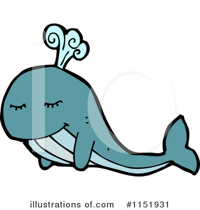 Whale Clipart #1151931 by lineartestpilot