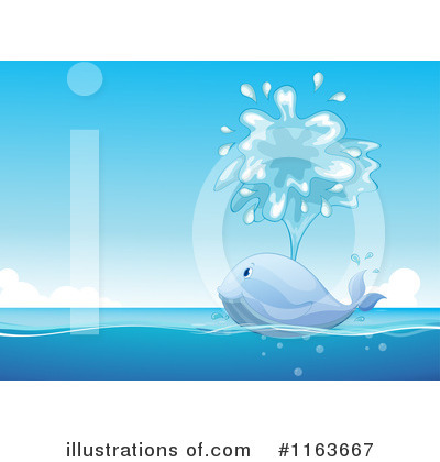 Royalty-Free (RF) Whale Clipart Illustration by Graphics RF - Stock Sample #1163667