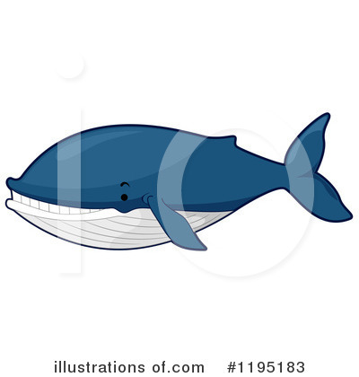 Whale Clipart #1195183 by BNP Design Studio