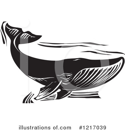 Whale Clipart #1217039 by xunantunich