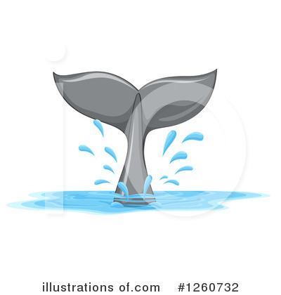 Royalty-Free (RF) Whale Clipart Illustration by Graphics RF - Stock Sample #1260732