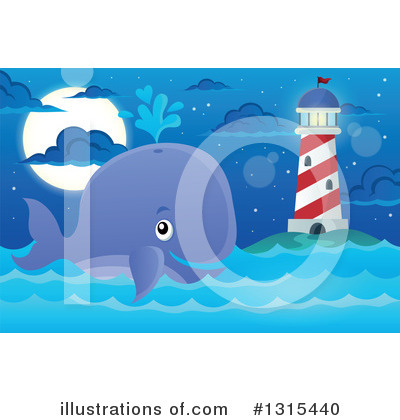 Whale Clipart #1315440 by visekart